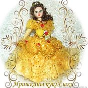 Dolls handmade. Livemaster - original item Belle is a fabulous porcelain beauty doll. Handmade.