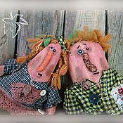 Куклы и игрушки ручной работы. Ярмарка Мастеров - ручная работа мистер и миссис Моркоу. Handmade.