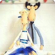 Куклы и игрушки ручной работы. Ярмарка Мастеров - ручная работа Лосики морские. Handmade.