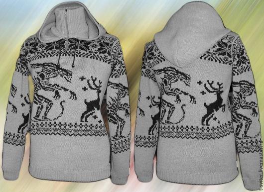 Тату-свитер -  Охота (Чужие против оленей)