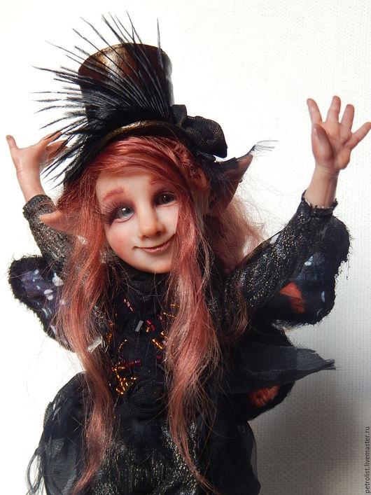 Коллекционные куклы ручной работы. Ярмарка Мастеров - ручная работа. Купить Милен. Handmade. Комбинированный, авторская работа, ткань