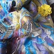 """Аксессуары ручной работы. Ярмарка Мастеров - ручная работа Палантин """"Ярославна"""". Handmade."""