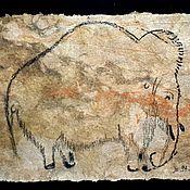 Картины и панно handmade. Livemaster - original item Mammoth. The Cave Of Rouffignac. Handmade.