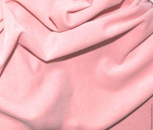 Хлопковый бархат от Pontoglio Италия.  (На фото снят со вспышкой).  Ширина ткани 125 см. Состав ткани - 100% СО Стоимость - 28 $ за погонный метр.