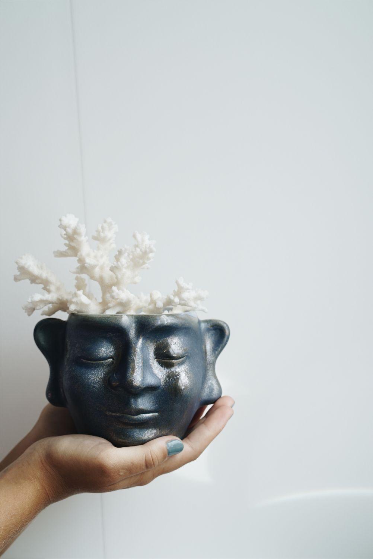 Керамический горшок «Будда с горы ЛинШан»