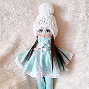 Куклы Тильда ручной работы. Ярмарка Мастеров - ручная работа Авторская текстильная кукла ручной. Handmade.