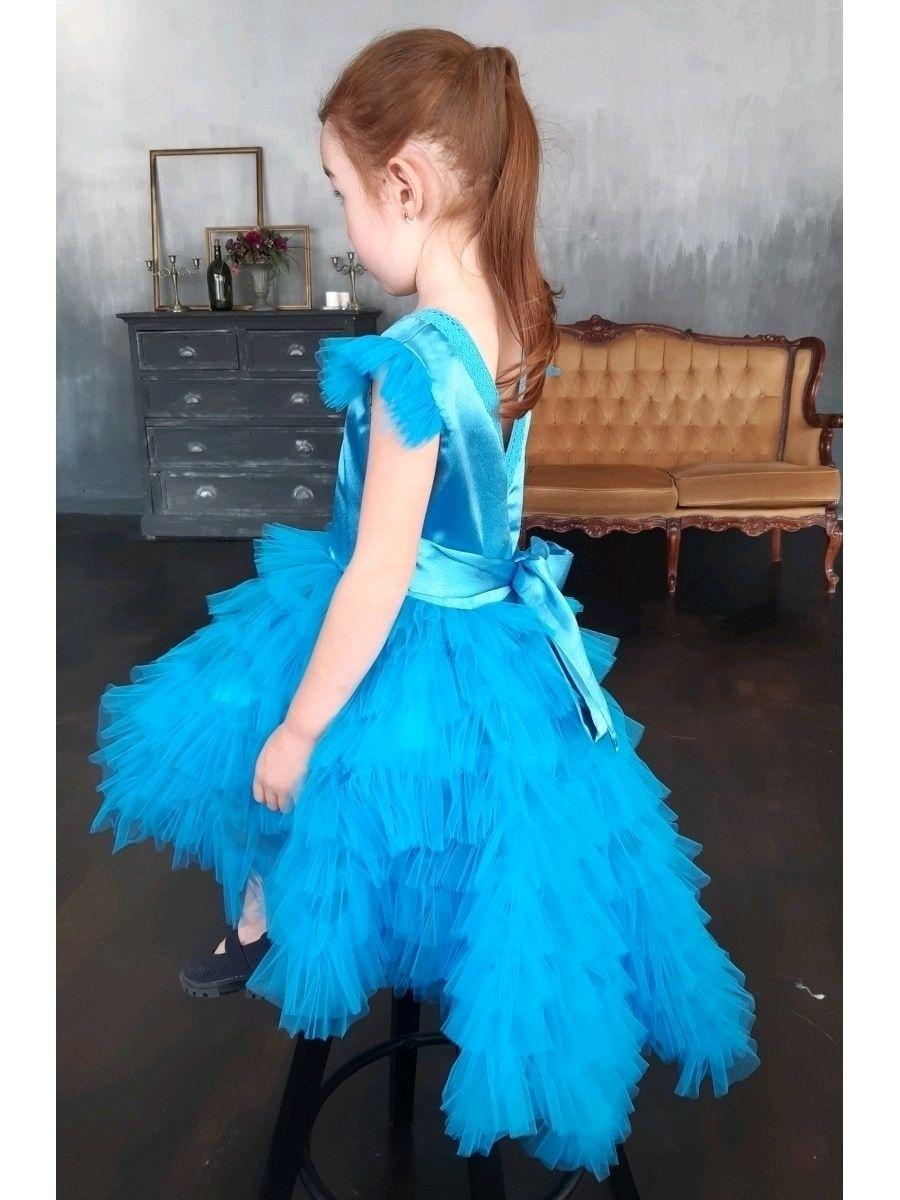 Нарядное платье со шлейфом, Платье, Первоуральск,  Фото №1