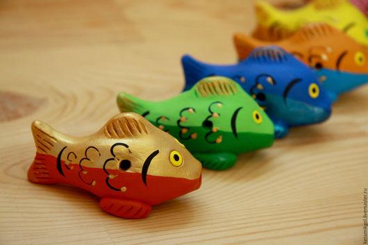Духовые инструменты ручной работы. Ярмарка Мастеров - ручная работа. Купить Поющие золотые рыбки. Handmade. Комбинированный
