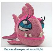 Куклы и игрушки ручной работы. Ярмарка Мастеров - ручная работа Пиранья Нептуна. Handmade.