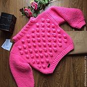 """Одежда ручной работы. Ярмарка Мастеров - ручная работа Вязаный свитер ручной вязки """"Пампушки"""". Handmade."""