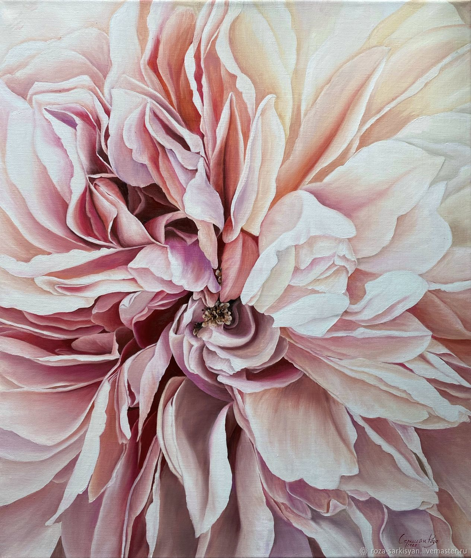 Изящество лепестков. Стильная картина 60х50 см, Картины, Чита,  Фото №1