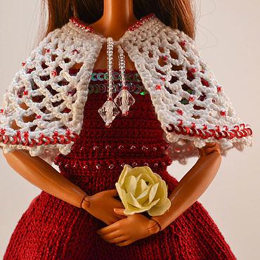 """Куклы и игрушки ручной работы. Ярмарка Мастеров - ручная работа Платье для Barbie  """"Вишня"""". Handmade."""