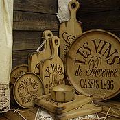 """Для дома и интерьера ручной работы. Ярмарка Мастеров - ручная работа Большой набор для кухни """"Дары Прованса"""". Handmade."""