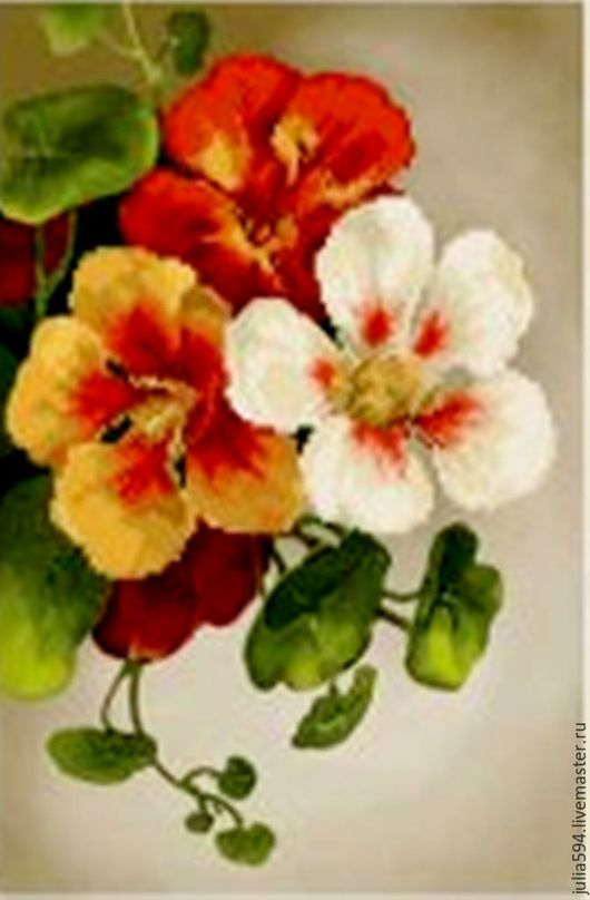 """Картины цветов ручной работы. Ярмарка Мастеров - ручная работа. Купить Картина из бисера """"Цветы"""" вышивка. Handmade. Желтый"""