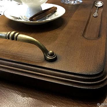 Для дома и интерьера ручной работы. Ярмарка Мастеров - ручная работа Поднос деревянный Поднос ручной работы. Handmade.