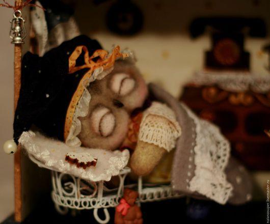 Игрушки животные, ручной работы. Ярмарка Мастеров - ручная работа. Купить Сова игрушка. Совиный домик. (Для Андрея). Handmade.