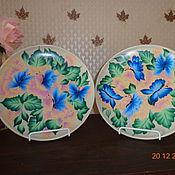 Подарки к праздникам ручной работы. Ярмарка Мастеров - ручная работа Голубые бабочки.. Handmade.