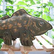 Куклы и игрушки ручной работы. Ярмарка Мастеров - ручная работа Рыба кистеперая пятнистая. Handmade.