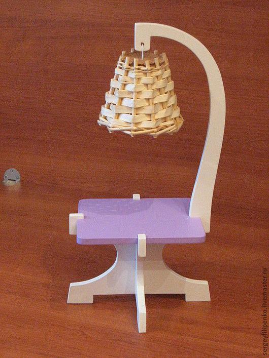 Кукольный дом ручной работы. Ярмарка Мастеров - ручная работа. Купить торшер со столиком. Handmade. Куклы и игрушки