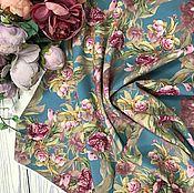"""Ткани ручной работы. Ярмарка Мастеров - ручная работа НИАГАРА """"суперсофт""""-плательно-блузочная ткань. Handmade."""