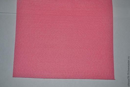 фетр для вышивания. основа для вышивания бисером. фетр листовой 1,4 мм 20 х 30 цвет розовый. OleSandra бисер бусины. Ярмарка Мастеров.