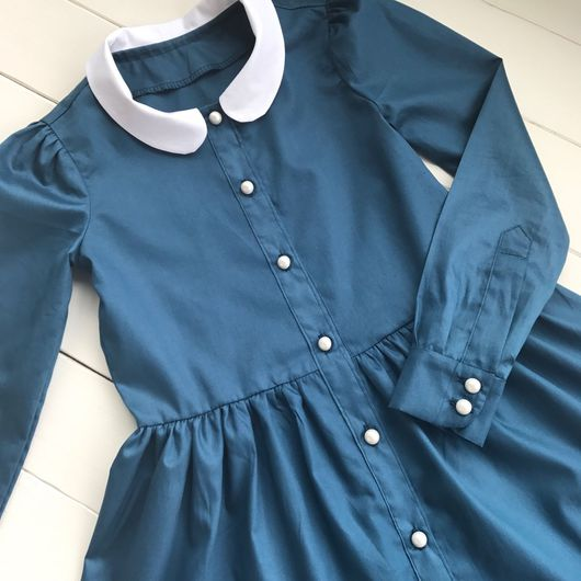 """Одежда для девочек, ручной работы. Ярмарка Мастеров - ручная работа. Купить Пышное платье """"Школьная форма """". Handmade. Платье"""