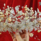 Свадебный салон ручной работы. Ярмарка Мастеров - ручная работа Свадебная заколка для причёски. Handmade.