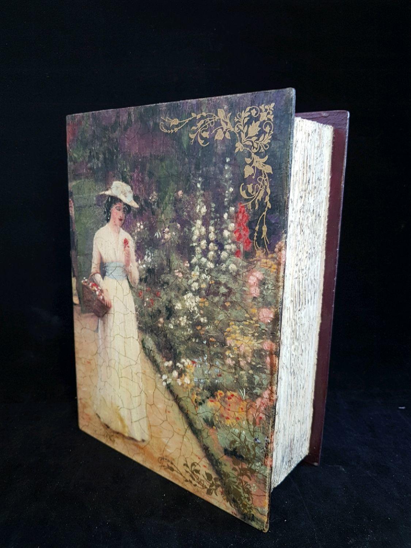 Box-book ,,Queen,, box decoupage, Box, Riga,  Фото №1