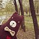 """Игрушки животные, ручной работы. Ярмарка Мастеров - ручная работа. Купить Игрушка ручной работы """"Медведь"""". Handmade. Коричневый, игрушка"""