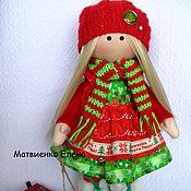 Куклы и игрушки ручной работы. Ярмарка Мастеров - ручная работа Кукла текстильная Ёлочка. Handmade.