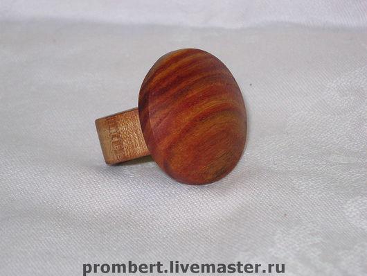 """Кольца ручной работы. Ярмарка Мастеров - ручная работа. Купить перстень """"Розовый"""". Handmade. Перстень, перстень из дерева, розовое дерево"""