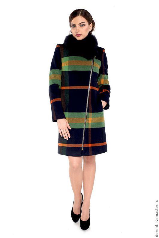 Верхняя одежда ручной работы. Ярмарка Мастеров - ручная работа. Купить Пальто зимнее М-131-RC-Z-М. Handmade.
