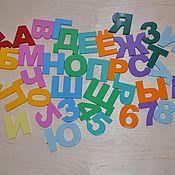 Мягкие игрушки ручной работы. Ярмарка Мастеров - ручная работа Алфавит из дерева. Handmade.
