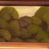 Картины и панно ручной работы. Ярмарка Мастеров - ручная работа Картина маслом пейзаж лес. Handmade.