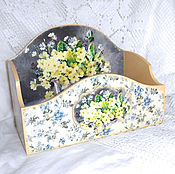 Для дома и интерьера handmade. Livemaster - original item Ladies ` box Buttercups. Handmade.