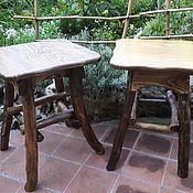Для дома и интерьера handmade. Livemaster - original item Stool wooden. Handmade.