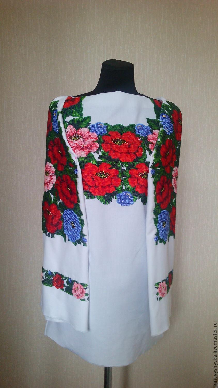 Бисер блузка