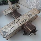 """Куклы и игрушки ручной работы. Ярмарка Мастеров - ручная работа Самолетик """"Маленький принц"""". Handmade."""