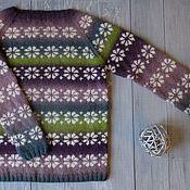 Одежда handmade. Livemaster - original item Sweater women knitted Yule. Handmade.