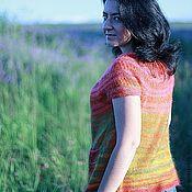 """Одежда ручной работы. Ярмарка Мастеров - ручная работа Жилет """"Summer"""". Handmade."""
