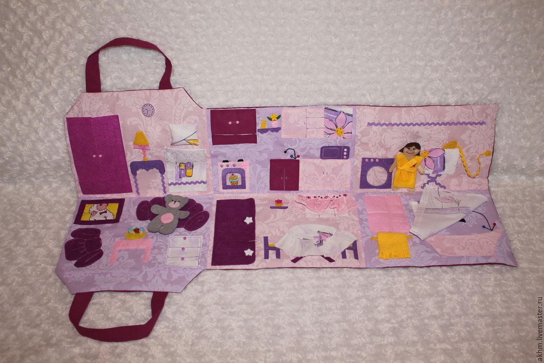 Домик сумочка из ткани выкройки