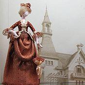 Куклы и игрушки ручной работы. Ярмарка Мастеров - ручная работа Дама на прогулке. Handmade.