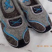 """Обувь ручной работы. Ярмарка Мастеров - ручная работа Тапочки """"Баскетбол"""". Handmade."""