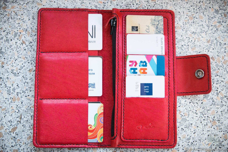 32e21b166542 Женское портмоне ручной работы – купить в интернет-магазине на ...