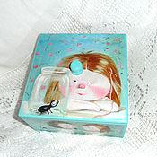 Для дома и интерьера handmade. Livemaster - original item Box of treasures and secrets. Handmade.