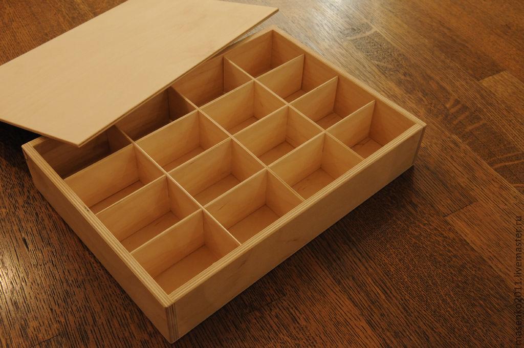 Как сделать в коробке отделы