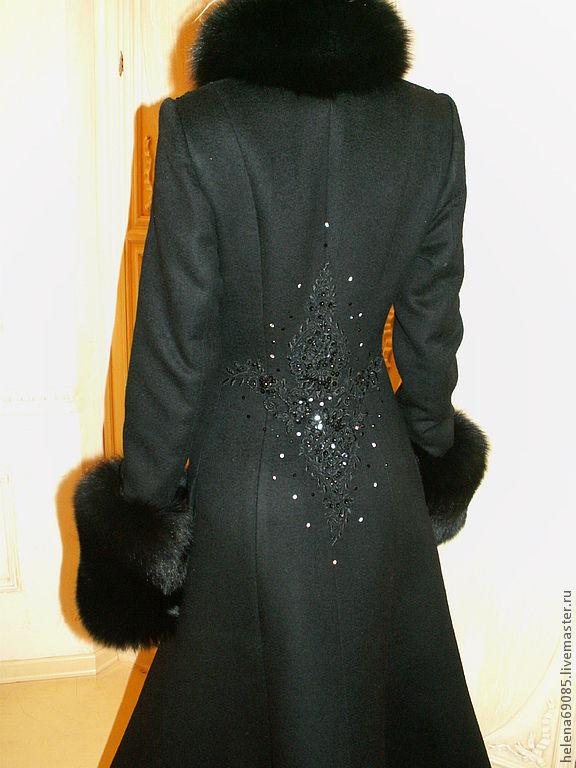 Зимнее пальто с мехом своими руками