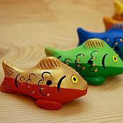 Музыкальные инструменты ручной работы. Ярмарка Мастеров - ручная работа Поющие золотые рыбки. Handmade.