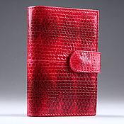 Сумки и аксессуары handmade. Livemaster - original item Karung Snake Skin Business Card Holder IML0008R. Handmade.