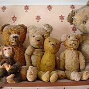 Куклы и игрушки ручной работы. Ярмарка Мастеров - ручная работа Антикварные тедди медведи!! и куклы!. Handmade.